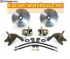 Wide 5 dropped spindle disc brake kit