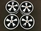 Detailed Porsche Fuchs Wheels with Hearts (CHROME)