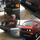 New Vanagon Westfalia bumpers coming soon