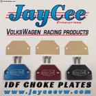 JayCee Billet IDF Choke plates