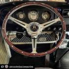 Baywindow Wolfsburg Wood rim steering wheel USA