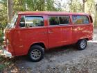 1973 Right Hand Drive RHD Red Bus