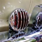 """4"""" Red Stop lights with 356 style grille"""