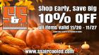 Holiday Savings 10% OFF Entire Inventory
