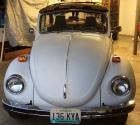 VW Bug Karmann Convertible Project Restoration Car