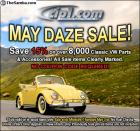 Our 15% Off May Daze Sale is on Now @ Cip1!