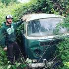 1971 VW deluxe bus pulled from bush BUSH FIND !