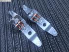 Split Bug Taillight Dual Bulb Holders Brackets