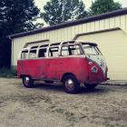 1964 21 Window Walkthru Deluxe Bus Project
