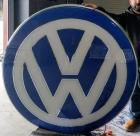VW Dealer sign
