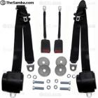 3 Point Retractable European Style Seatbelt Kit