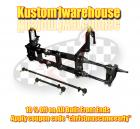 vw narrowed link pin ball joint front end beams