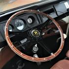 Stealth Baywindow Black woodrim steering wheel