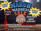 March Madness Sale On Now