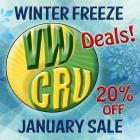 HAPPY NEW YEAR!  from VWCRU with 20% off