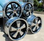 Chrome and Detailed 4.5 and Deep 6 Fuchs