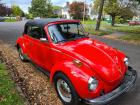 1976 Super Beetle Convertible, Red, Oregon