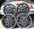 Magnesium Finish Cosmo VW Wheels