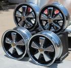 AVW Premium Chrome and Detailed Fuchs Wheels