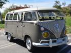1964 VW Bus German 13 window deluxe