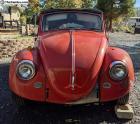 1967 Convertible Bug -- Original Red paint