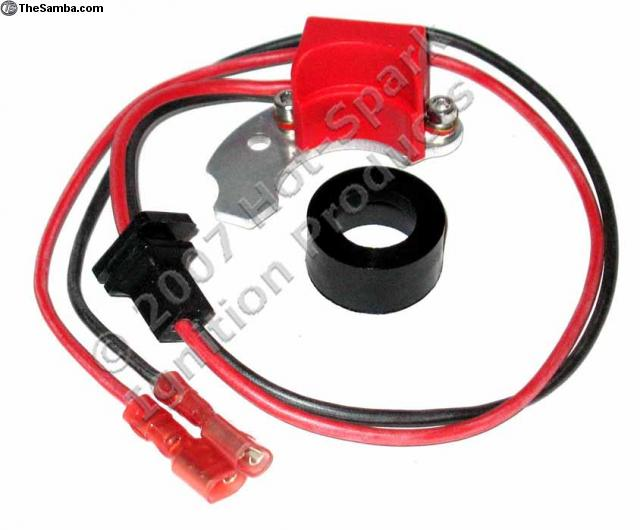 3bos4c2 electronic ignition kit for non-vacuum-advance bosch distributors  with 2-piece points, photo
