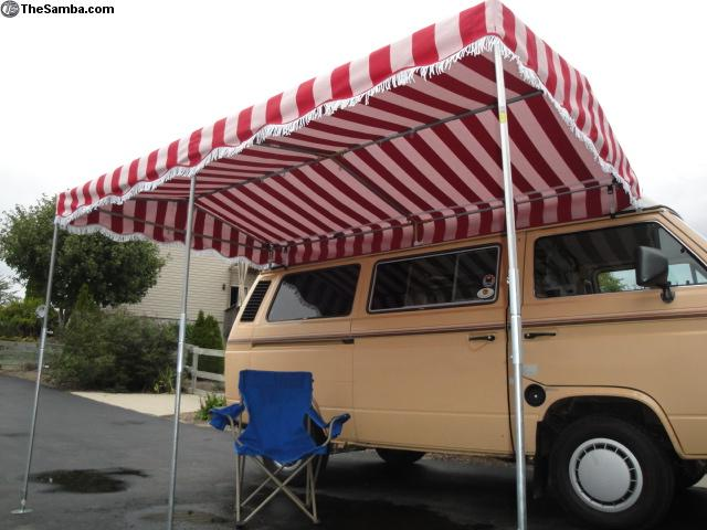Beautiful TheSamba.com :: VW Classifieds   Vintage Style Frame Awning Canopy Fits All  Buses
