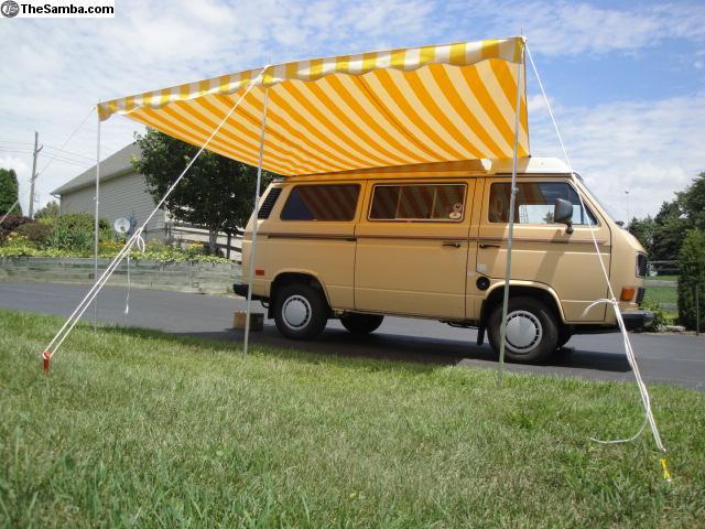 Vintage Vw Bus Awning