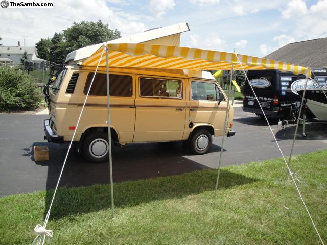 TheSamba.com :: VW Classifieds - Awning Canopy Westfalia ...