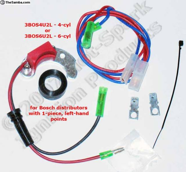 thesamba com vw classifieds electronic ignition 6 cyl, 4 cyl basic ignition coil wiring vw beetle electronic ignition wiring diagram #13