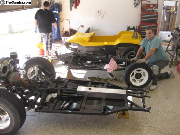 TheSamba com :: VW Classifieds - Tube chassis for manx cars