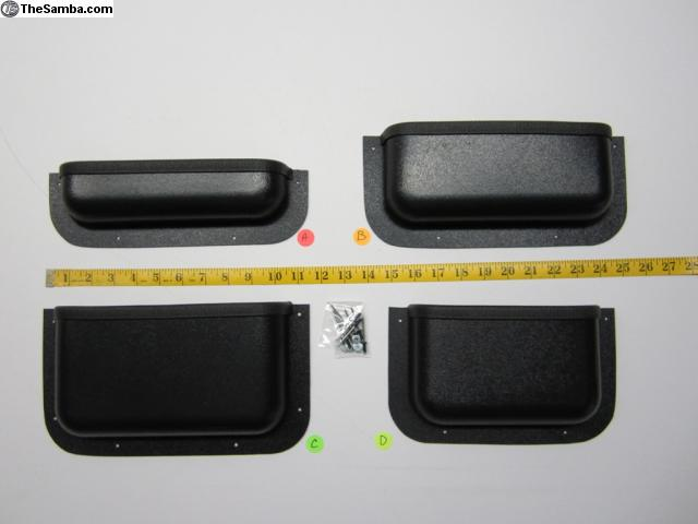Car Seat Net Pockets
