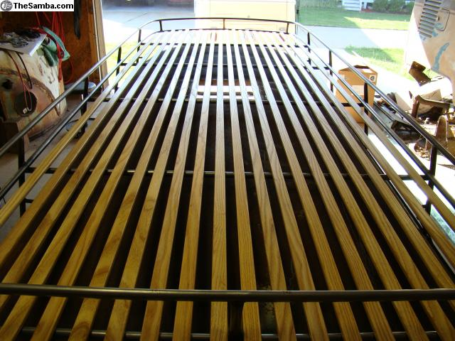 Thesamba Com Vw Classifieds Wood Roof Rack Slats