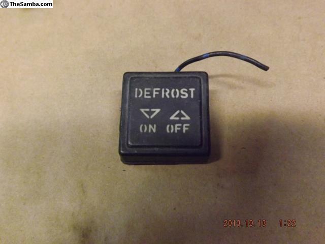defrost porsche light thesamba classifieds vw additional