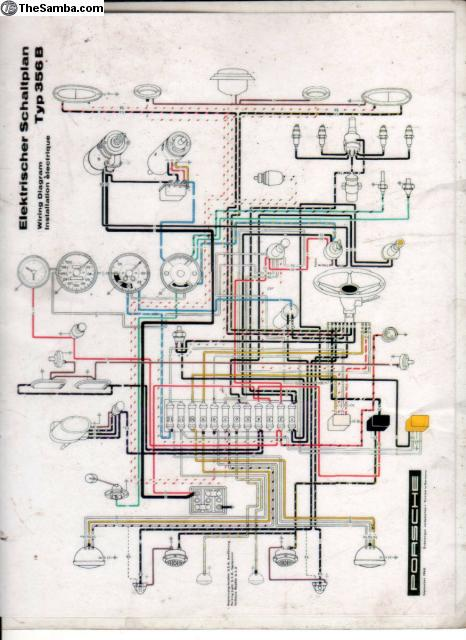 356a wiring diagram wiring diagramwiring diagram porsche 356b wiring diagramsthesamba com vw classifieds porsche 356 b color coded wiringwiring diagram