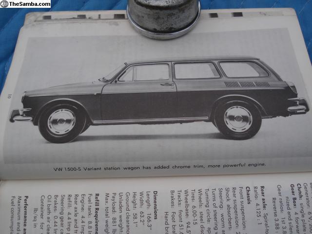 TheSamba com :: VW Classifieds - Owners Handbook,fast,square
