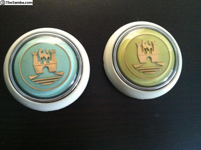 TheSamba com :: VW Classifieds - Custom colored horn buttons