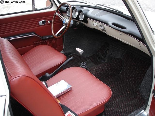 Vw Fastback Interior
