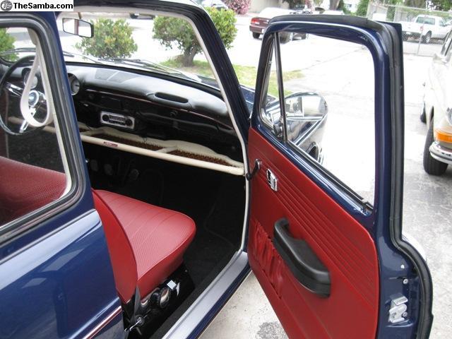 Complete Type 3 Squareback Interior Kit 1968-1969 Price: $750
