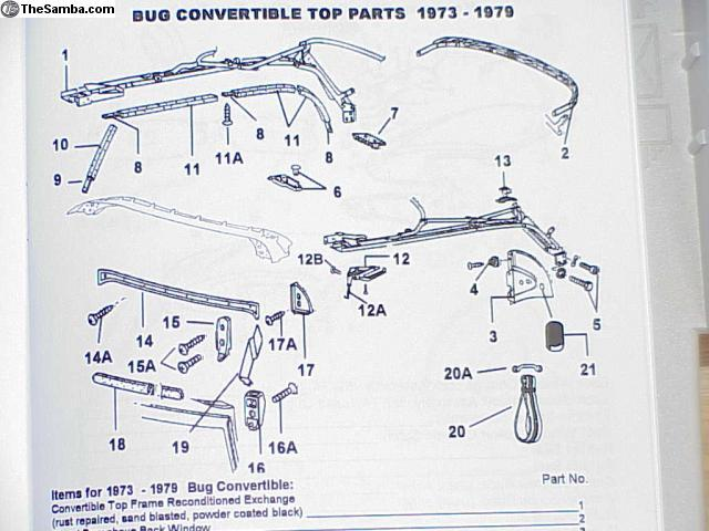TheSamba com :: VW Classifieds - VW Convertible parts