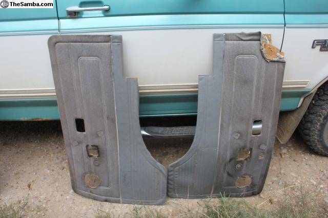 Thesamba Vw Classifieds 2 Vanagon Front Door Panels Grey