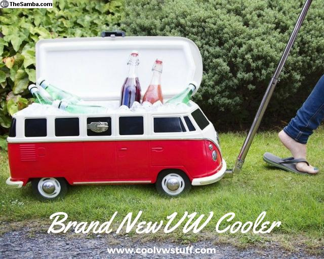 TheSambacom  VW Classifieds  Brand New VW Bus Ice Chest from