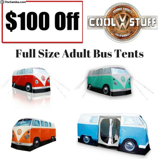 Photo  sc 1 st  The Samba & TheSamba.com :: VW Classifieds - Full Size VW Bus Tents Now $100 Off!
