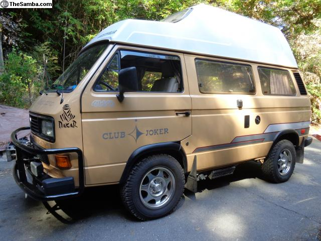 vw classifieds 1990 syncro 16 westfalia. Black Bedroom Furniture Sets. Home Design Ideas