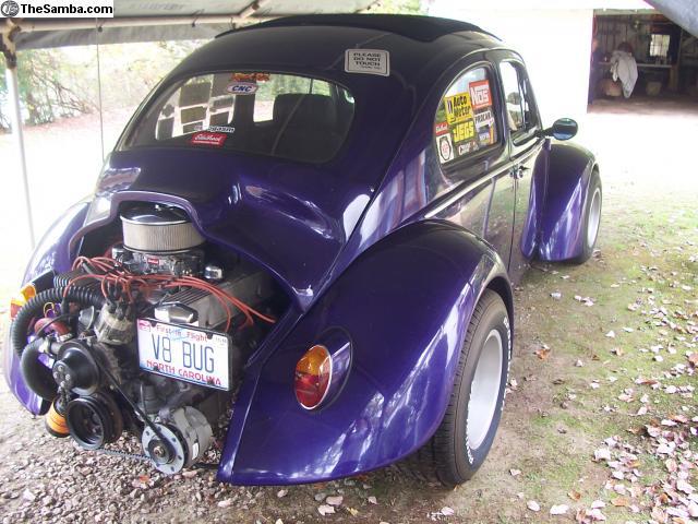 TheSamba.com :: VW Clifieds - 1960 sunroof bug, rear eng. V8