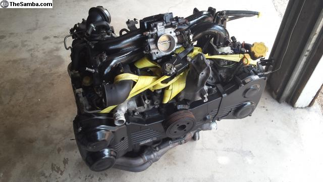TheSamba com :: VW Classifieds - Subaru EJ20 VW Engine Swap