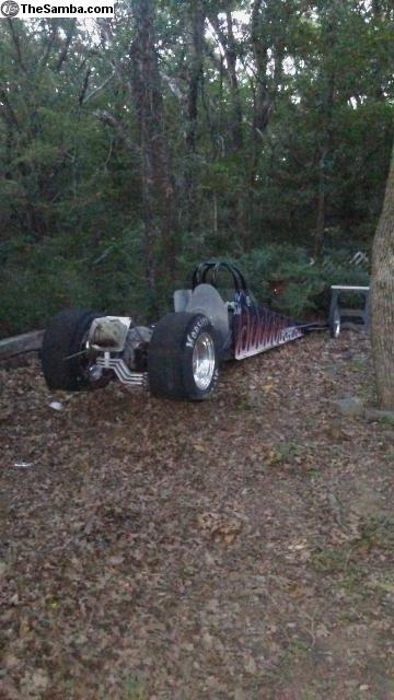 TheSamba com :: VW Classifieds - VW Rail Dragster Roller