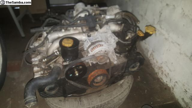 Thesamba Com Vw Classifieds Subaru Ej22 Engine For Sale Pending