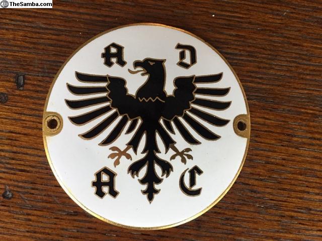 ADAC German Auto Club car Grille Badge