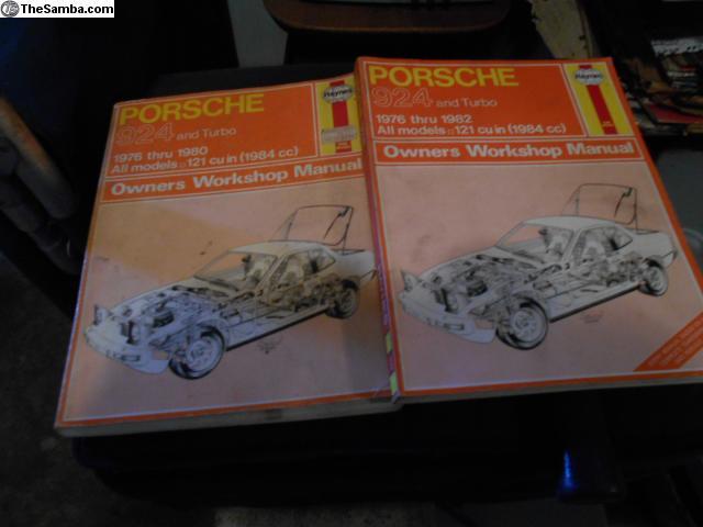 TheSamba com :: VW Classifieds - Haynes Porsche 924 and 924